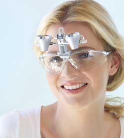 双眼ルーペ EyeMag Smart Sports Glass