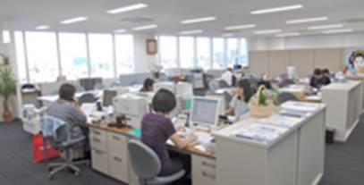 営業所:札幌/名古屋/大阪/福岡(営業課、技術営業課、営業業務課)
