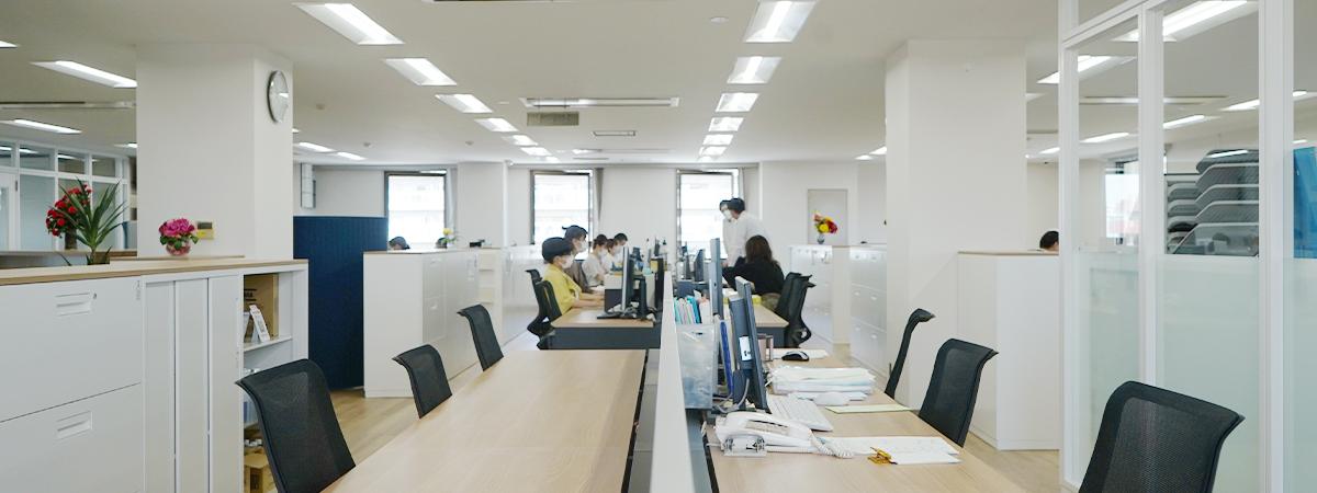 海外業務部(業務課、広報課、安全管理課、輸出課)